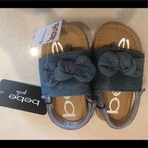 Bebe Girls Adorable Sandals!